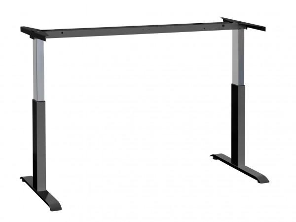 officeplus-ergon-lift-hoehenverstellbarer-schreibtisch-gasfeder-gestell-schwarz
